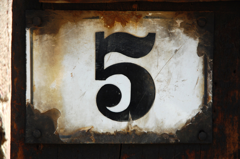 5 is the magic number